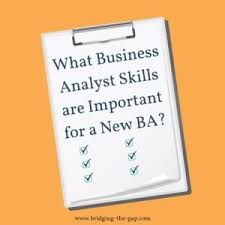What Are Analytical Abilities What Business Analyst Skills Are Important For A New Ba