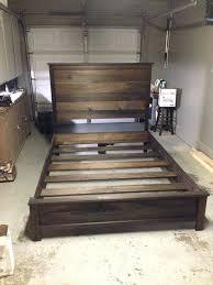 diy king bed frame king bed decor innovative boys frame and headboard diy california king bed