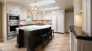 Traditional Kitchens Designs Awesome Henry White Kitchen Design With Marble Island