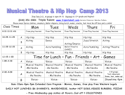 Summer Daily Schedule Template 24 Images Of Camp Weekly Calendar Template Canbum Summer Camp