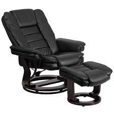 full size of modern chair ottoman bellatrix modern black leather leg chair and ott lounge