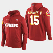 Red Hoodie Player Chiefs Ii Pullover Patrick - Mahomes