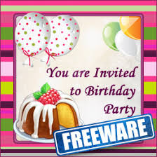 Free Birthday Card Maker Freeware Birthday Party Invitation Card Maker Software For Mac