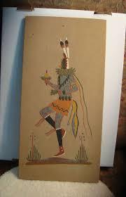navajo sand painting ye bi cha alfredo watchman