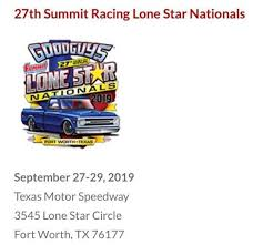 GoodGuys Summit Racing Lone Star Nationals at Texas Motor Speedway ...