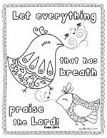 Small Picture 3 Free Scripture Coloring Pages Spell Out Loud