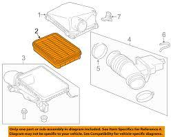 toyota oem 08 15 sequoia engine air filter element 178010s010 toyota oem 08 15 sequoia engine air filter element 178010s010