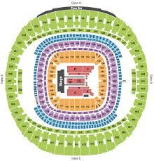 George Strait Tickets Seating Chart Mercedes Benz