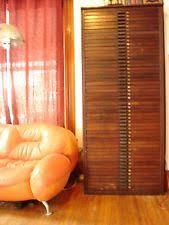 antique vine industrial hamilton mfg co 50 drawer wood block printers cabinet