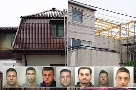 Romanian jewel thieves trained at a secret crime academy before  Hollywood-style heist to steal £3.1m worth of British gems
