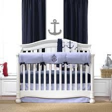 nursery baby bedding crib teal anchor with sheet rhyme sets