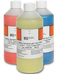 Hach 2947600 Ph Buffer Solution Kit Color Coded Ph 4 01 Ph 7 00