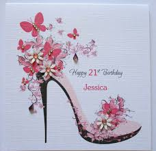 50th birthday card ideas handmade personalised female birthday card 18th 21st 30th 40th 50th