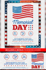 Memorial Day Free Poster Template Freebie For Independence Day