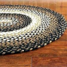 black forest braided rug oval round rugs country decoration solid al area tan cream rectangle black wool braided rug