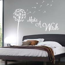 wall decorating solutions with bedroom wall stickers bedroom wall stickers make a wish dandelion quote wall  on wall art sayings for bedroom with the princess wall stickers sleeps here wall decals home decor wall