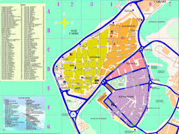 cartagena map  cartagena colombia • mappery