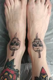 Tattoo Uploaded By Tom Brennan Two New Skullzzzz On The Body Of My