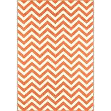 orange and white rug orange chevron area rug chevron orange indoor outdoor area rug orange chevron