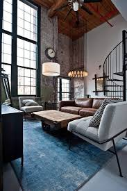 Interior Design For Apartment Living Room Inspiration Apartment Living Love The Blue Of The Carpet And The High Ceilings
