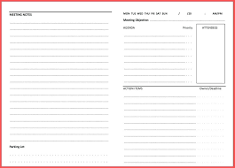 Meeting Minutes Template Document Free School Council Doc Llc