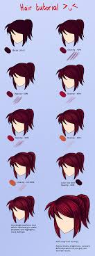How I Color Red Hair By Noodles919 On Deviantart