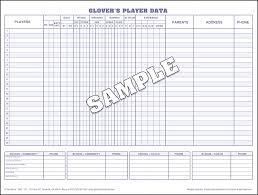 Baseball Scorebook And Softball Scorebooks From Glovers