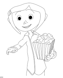 Small Picture Coraline Coloring Pages To Download And Print For Free Coloring Home