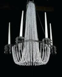 clear beaded chandelier iridescent clear beaded 6 arm taper candle chandelier clear beaded sphere chandelier