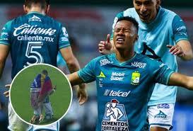 Yairo Moreno y el festejo del título de León, ¡de rodillas recorriendo la  cancha!