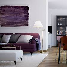 Small Picture Purple Sofa Furniture for Living Room of Scandinavian Interior