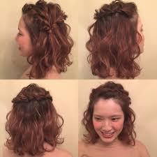 高校生jk 簡単ミディアムヘアアレンジ Youtube 髪型 ボブ アレンジ