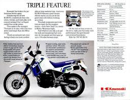 the klr s long run is over revzilla 1987 kawasaki brochure