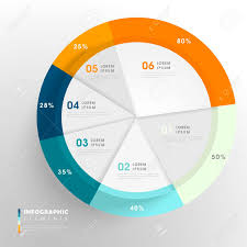 Pie Chart Design Creative Infographic Template Design With Pie Chart