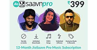 JioSaavn E-Gift Card - 1 Year subscription: Amazon.in: Gift Cards