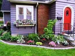 simple landscaping ideas home. Front Of House Simple Landscaping Ideas Home