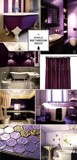 Purple Themed Bathroom Accessories Stunning Purple Bathroom Sets Get Beautiful Interior