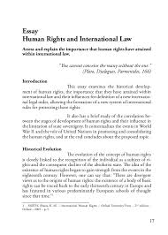 master of laws human rights 18 20 in this context arises the universal declaration of human rights