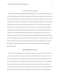 a business proposal example fix my