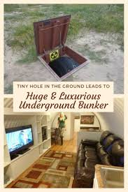 How To Make A Underground House Best 25 Underground Bunker Ideas Only On Pinterest Zombie