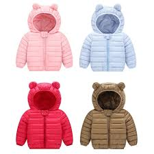 new baby winter coats down cotton coat kids baby clothes hooded infant down for boys and