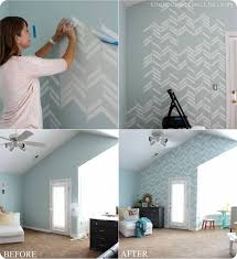 scattered herringbone wall decal thehouseofsmithsdesigns  on diy wall art master bedroom with scattered herringbone decal in our shop diy framed art