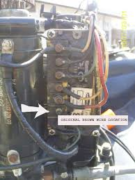 zman s outboard motor guides outboard motor common wiring to make the tachometer work on the mercury 650electric start you need to move a