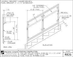 stair railing details railing details glass railing details