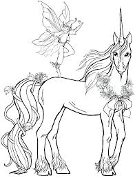 Coloring Pages Free Printable Unicorn Coloring Pages Pictures To