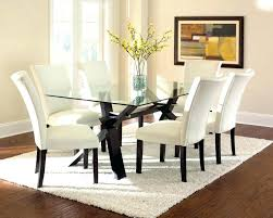 glass small dining table round and chairs clearance