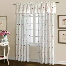 loretta embroidered sheer curtains are an elegant or casual addition to any window panels
