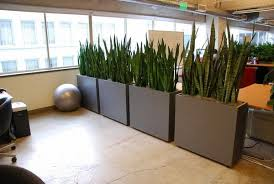 creative office partitions. Office Facade Design Creative Interior Plant Pots Partitions Ideas Living Plants Containers