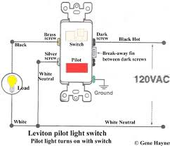 how to wire cooper 277 pilot light switch leviton t5225 at Leviton 5245 Wiring Diagram