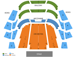 Straz Seating Seating Chart